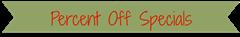 percent off banner