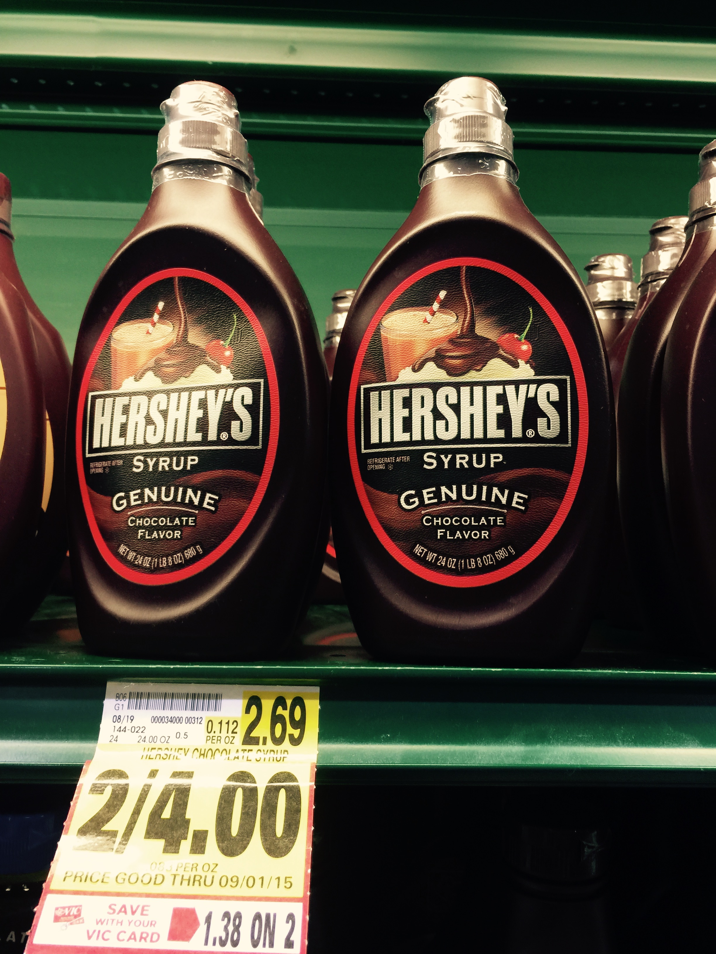 Hershey Chocolate Syrup $1.50! - The Harris Teeter Deals