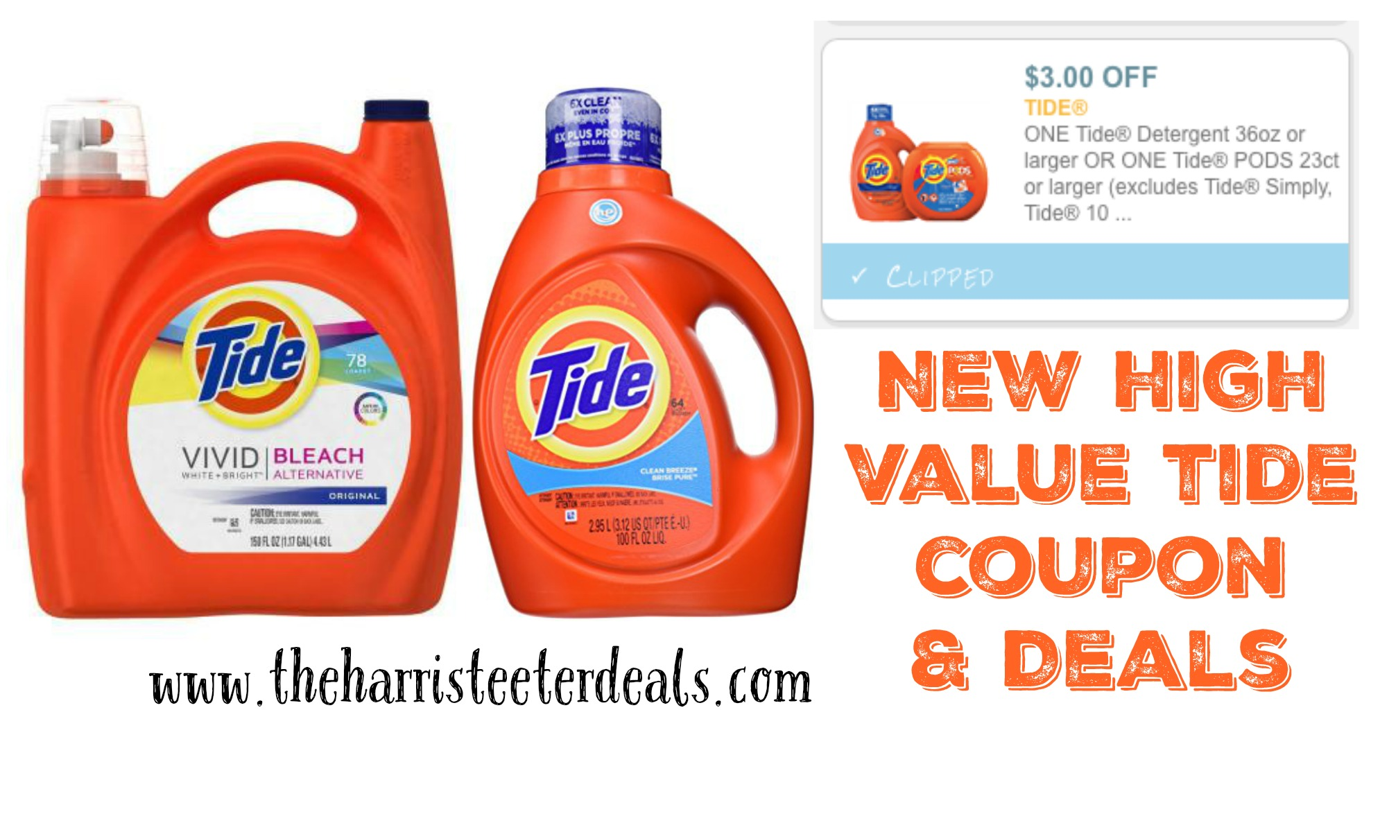 Tide & Downy Unstopable Deals at Kroger This Week Posted by Jennifer Carles on Monday, July 30th, at AM The links in the post below may be affiliate links. Read the Full Disclosures!