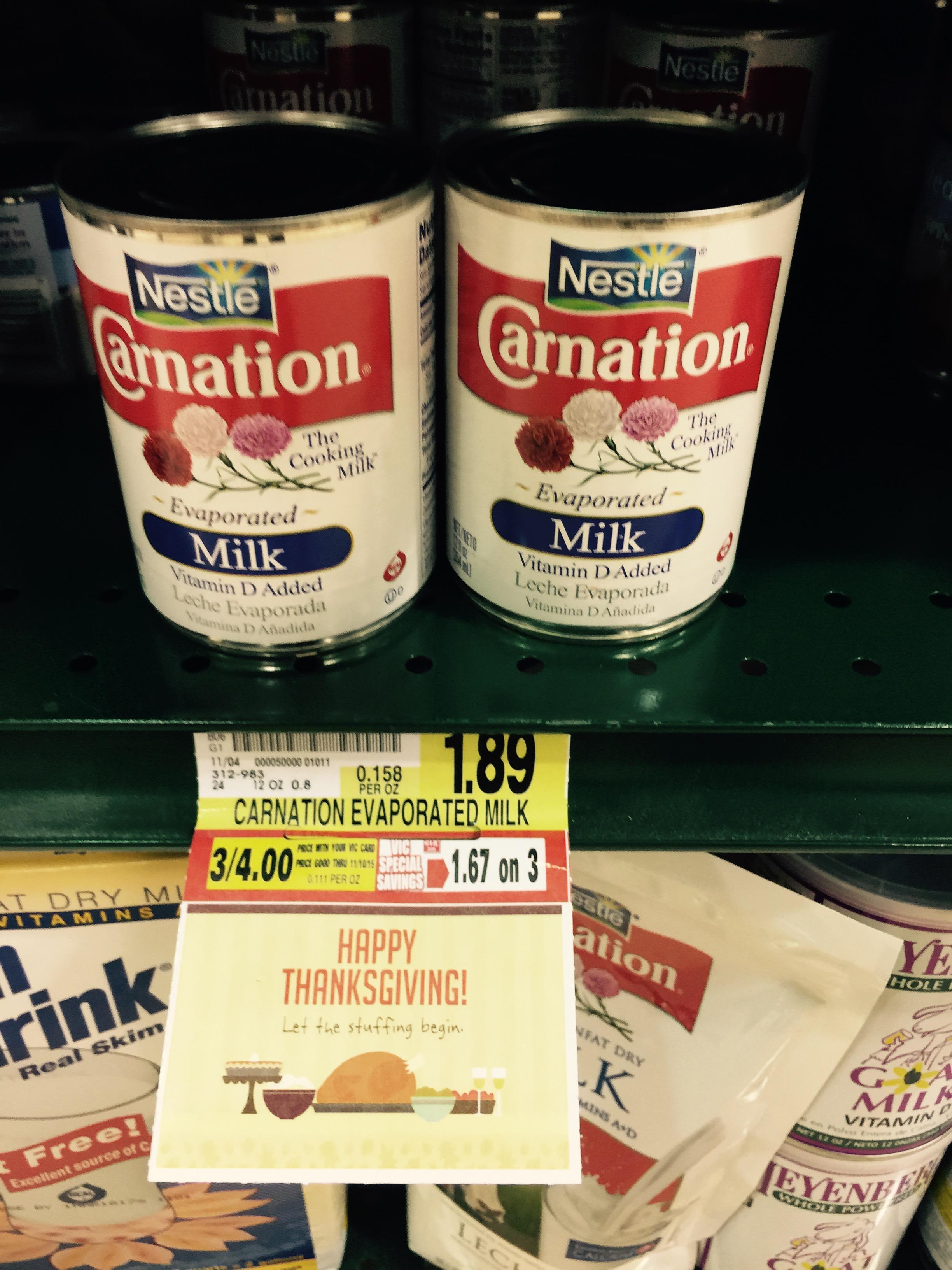 Carnation milk coupon canada