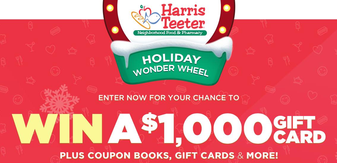 Harris Teeter Holiday Wonder Wheel Spin & Win Game! - The Harris ...