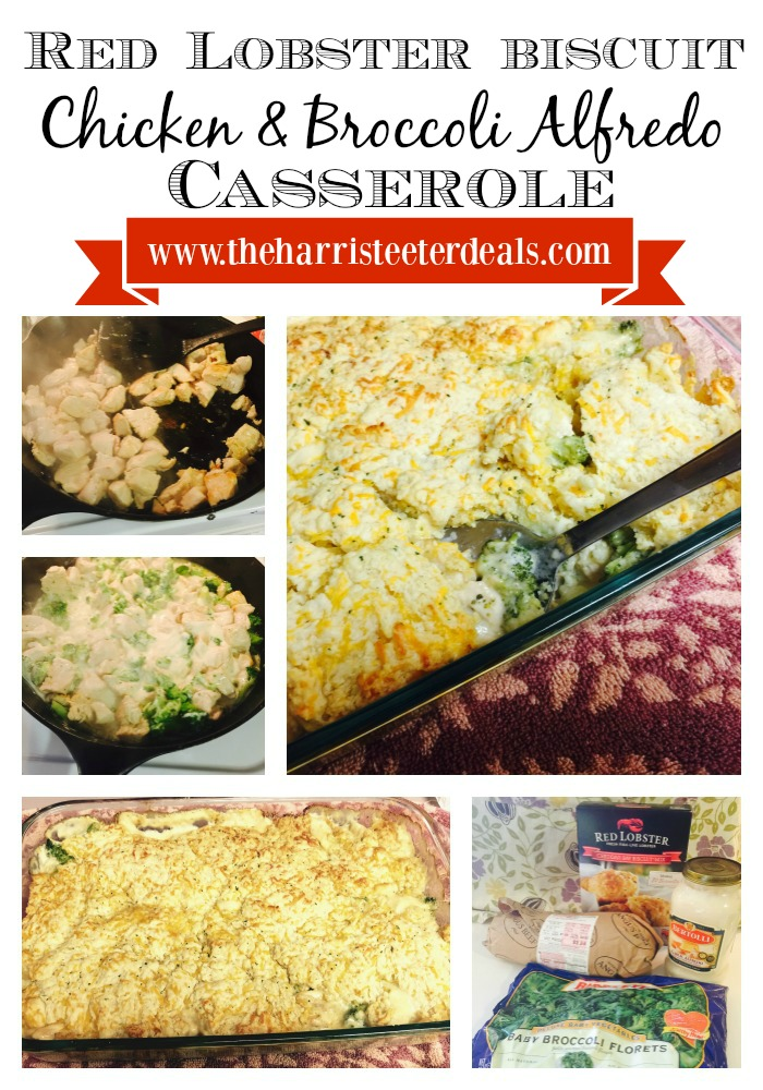 Red Lobster Biscuit Alfredo Casserole