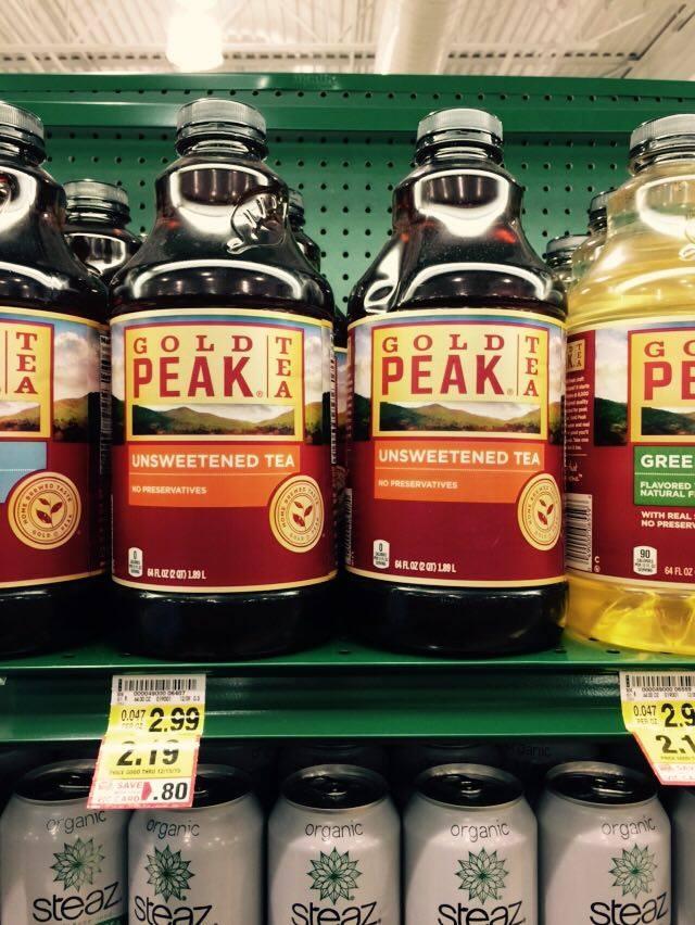 Gold peak tea coupons