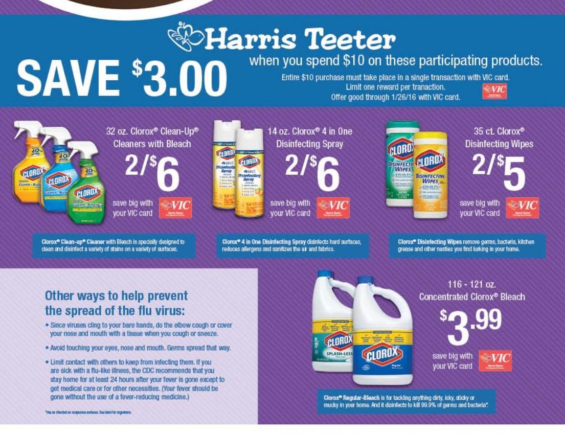 The Harris Teeter Deals Bringing You New Deals At Harris
