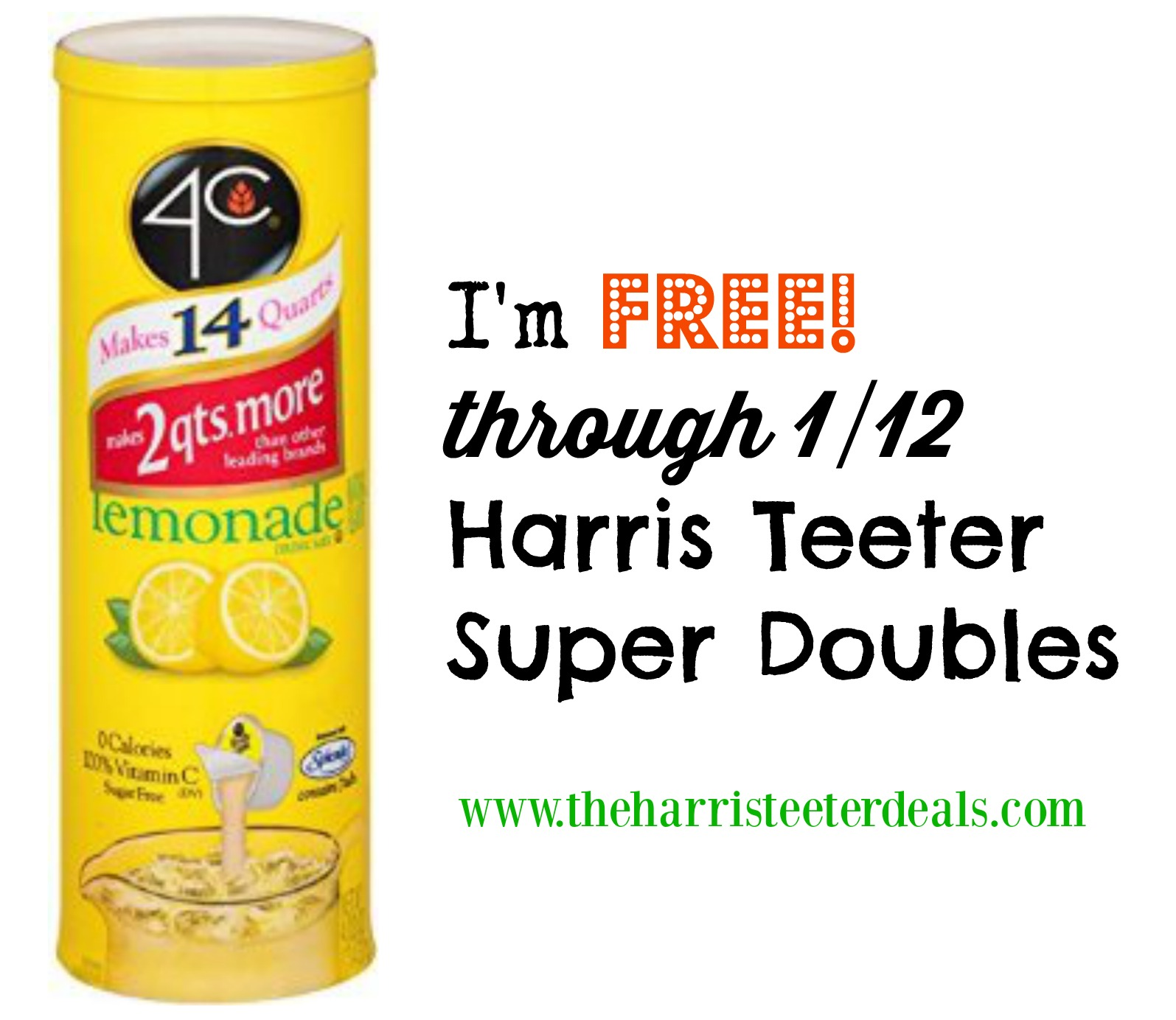 Harris teeter double coupons week