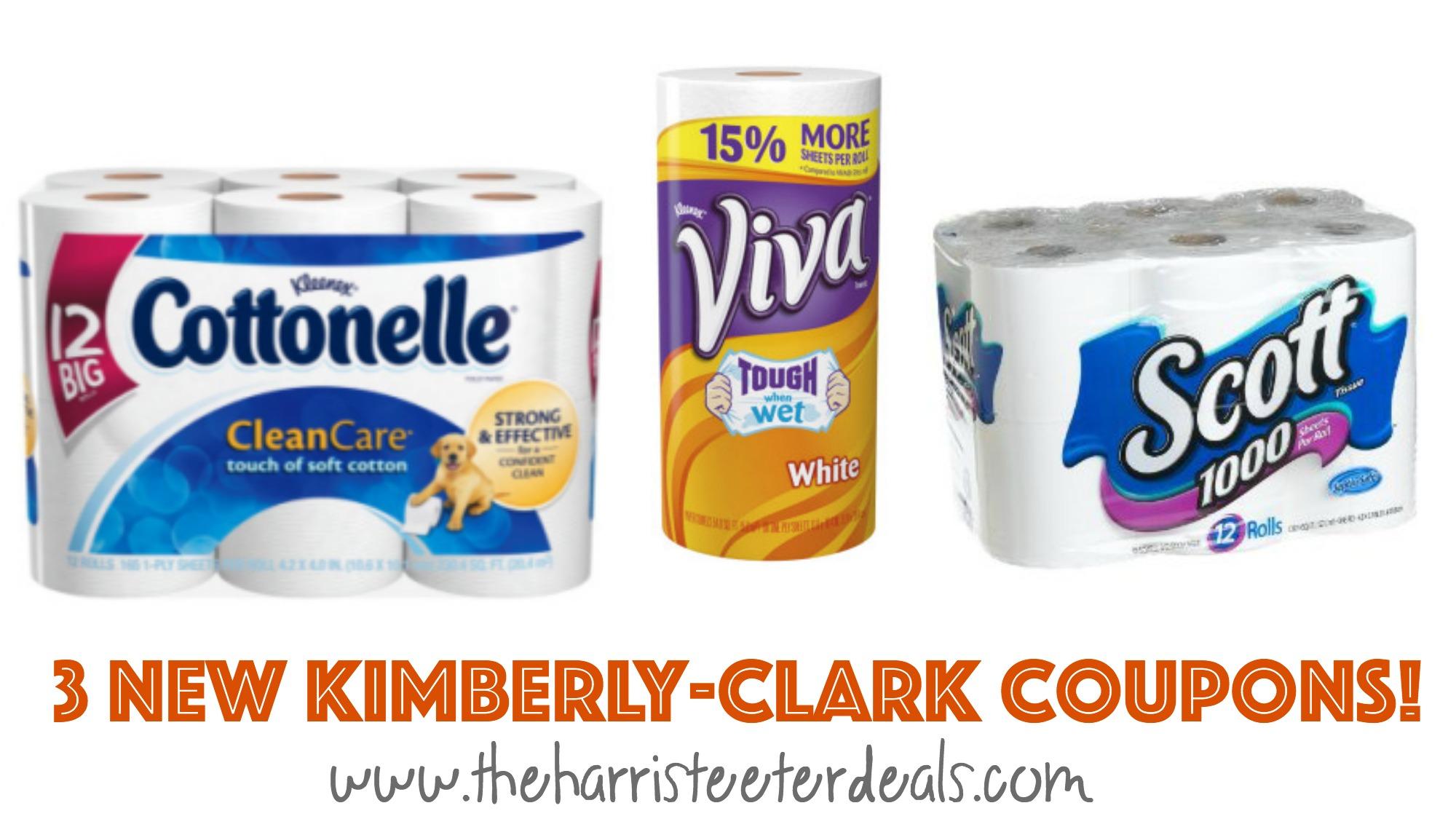 Kimberly clark poise coupons