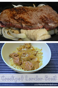 Crockpot London Broil Recipe! {Deals to Meals}
