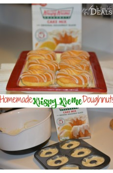 Homemade Krispy Kreme Doughnuts Recipe! {Plus Krispy Kreme Deal!}