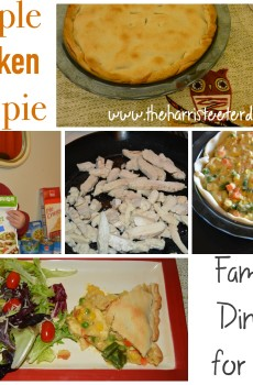 Perdue Simple Chicken Pot Pie! {Frugal Meal for under $7}