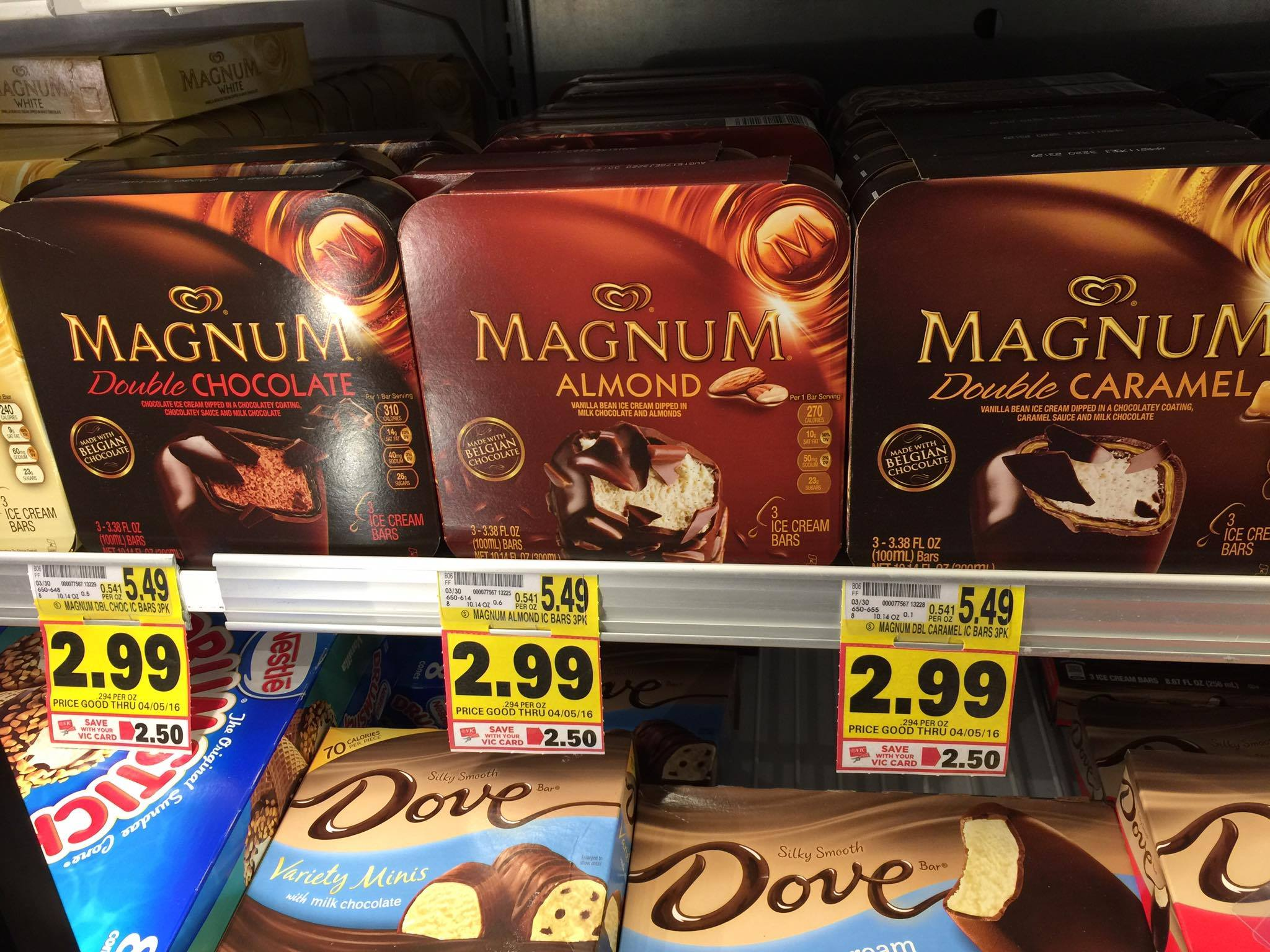Magnum Ice Cream Bars $1.49 {Normally $5.49!} - The Harris ...