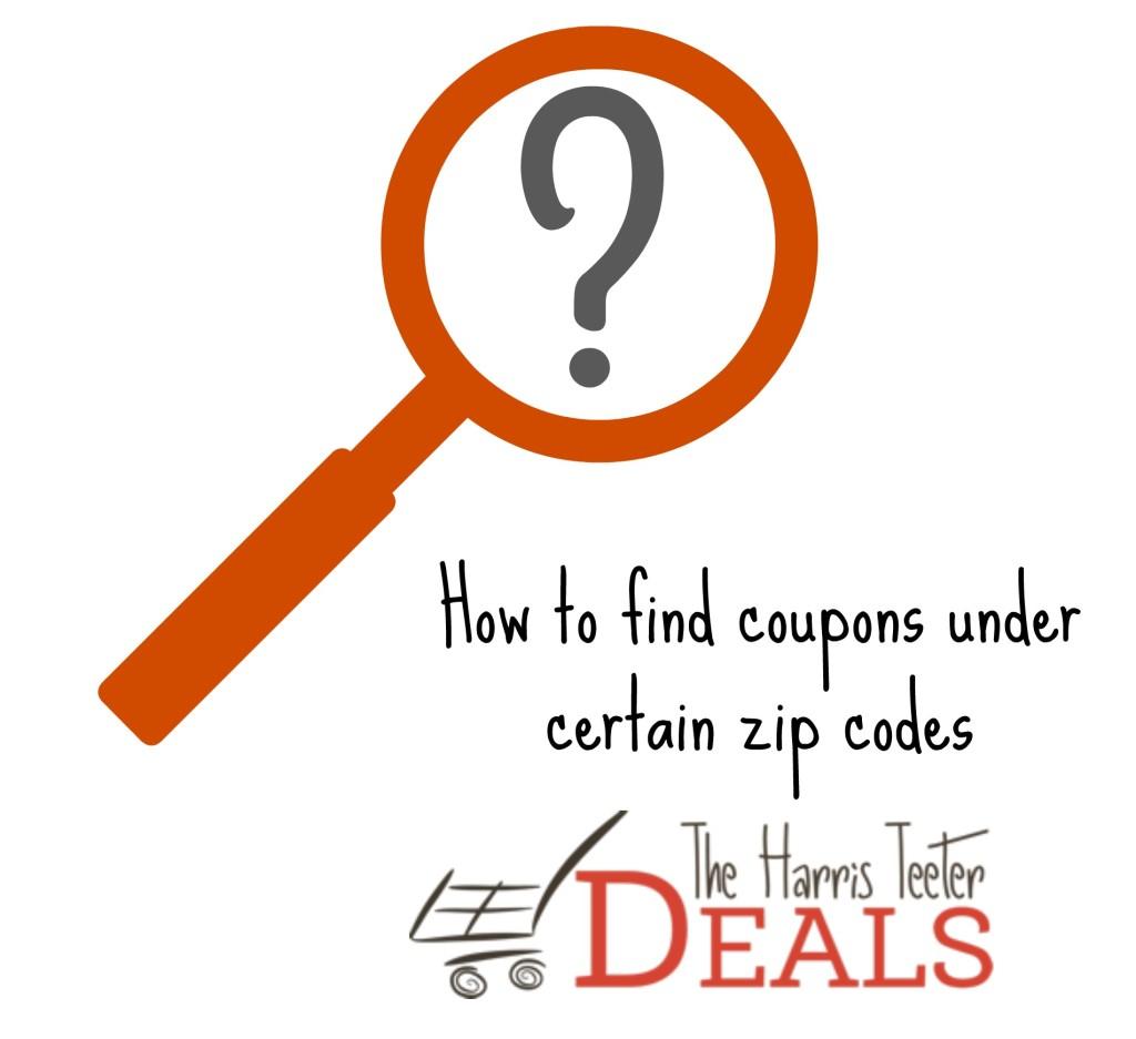 zip code coupons