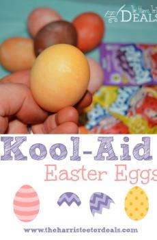 How to Dye Kool-Aid Easter Eggs