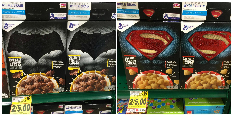super hero cereal