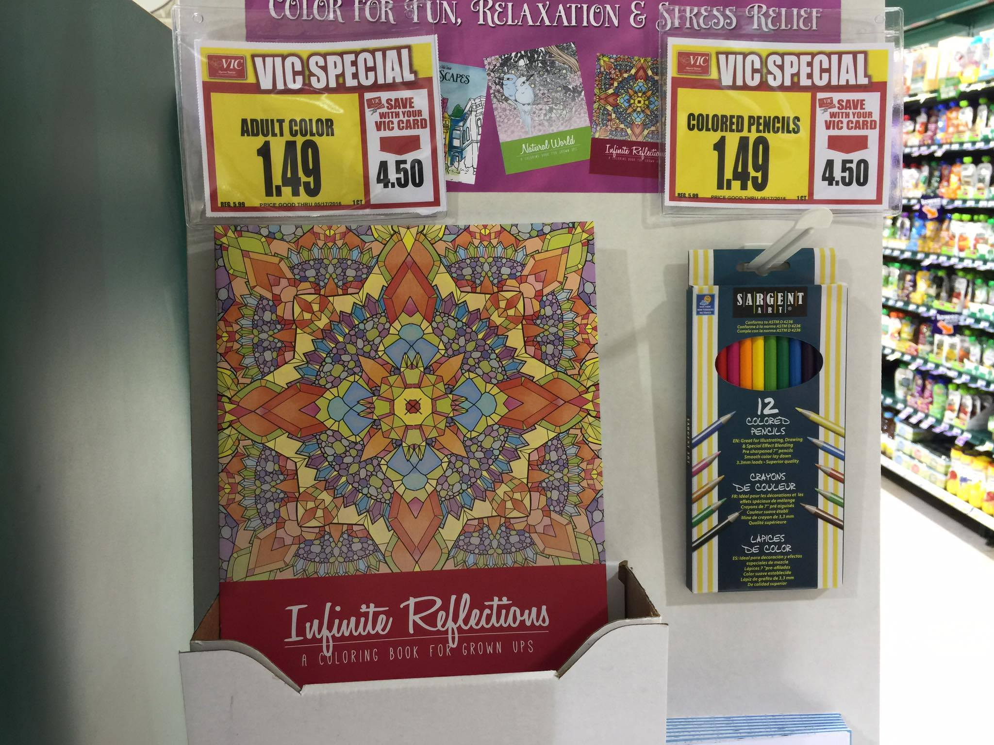adult coloring books colored pencils usd149 the harris teeter dollar tree - Dollar Tree Coloring Books