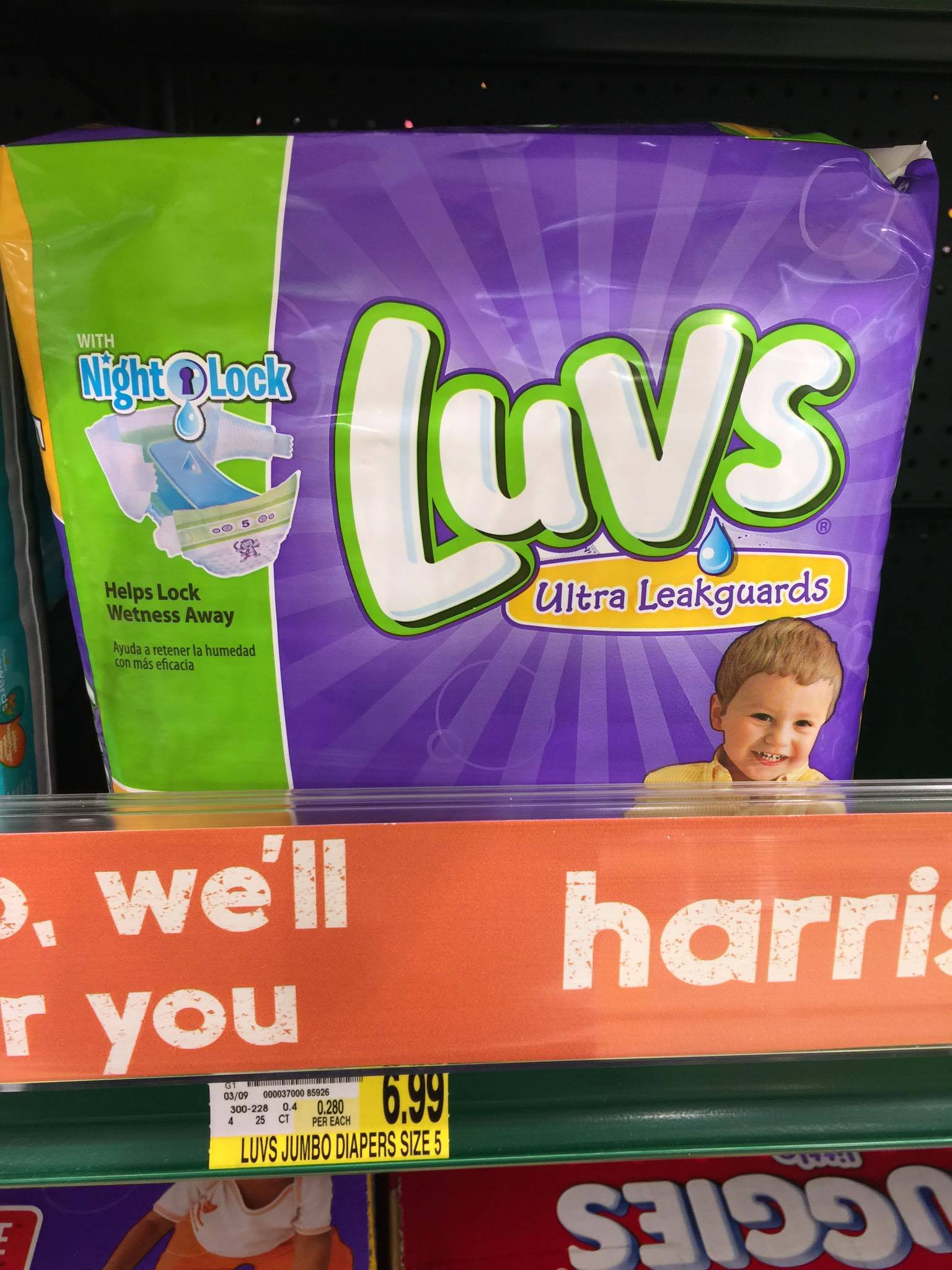 Luvs Diapers Only 2 99 Harris Teeter Super Doubles