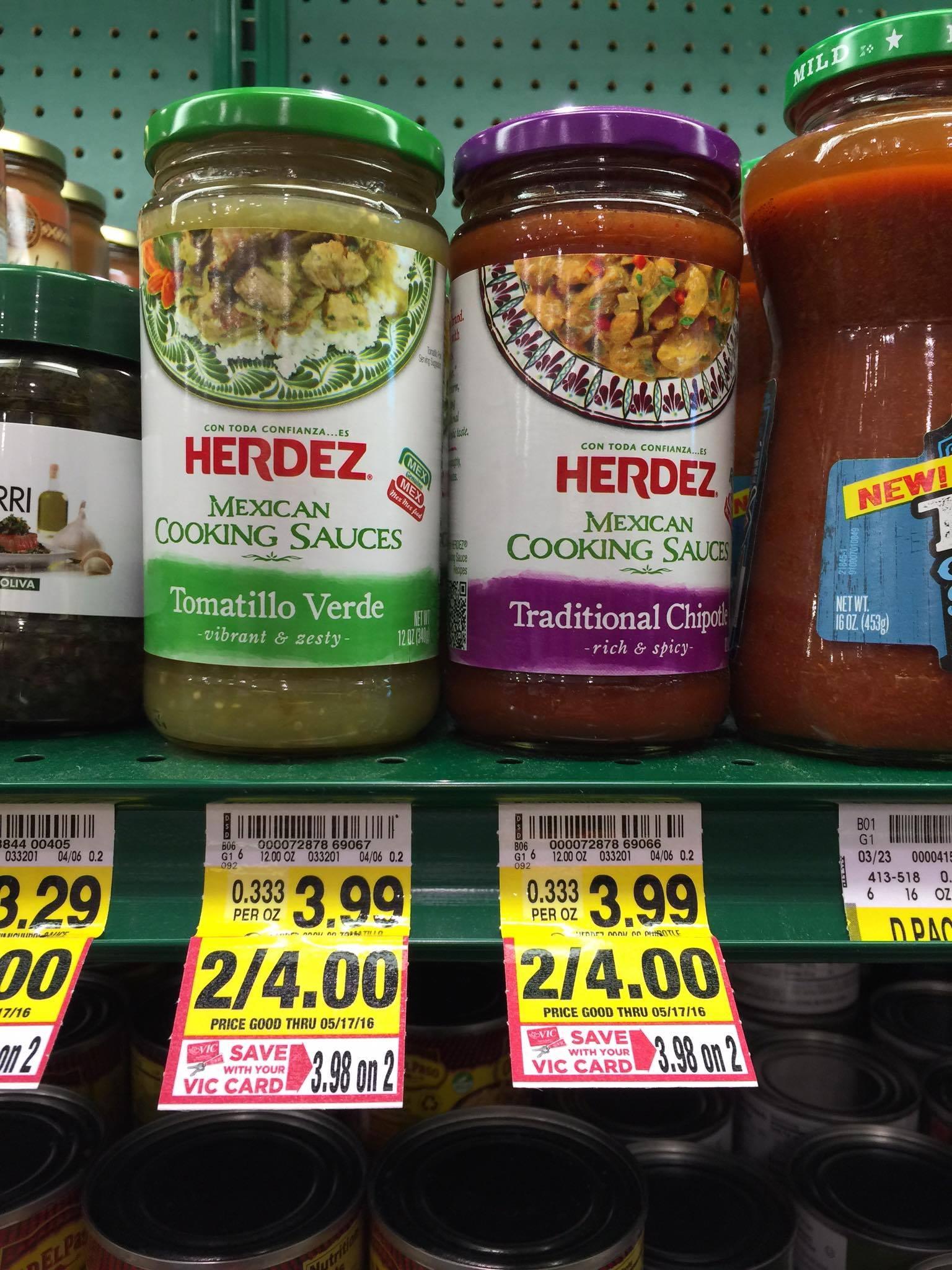 herdez cooking sauce