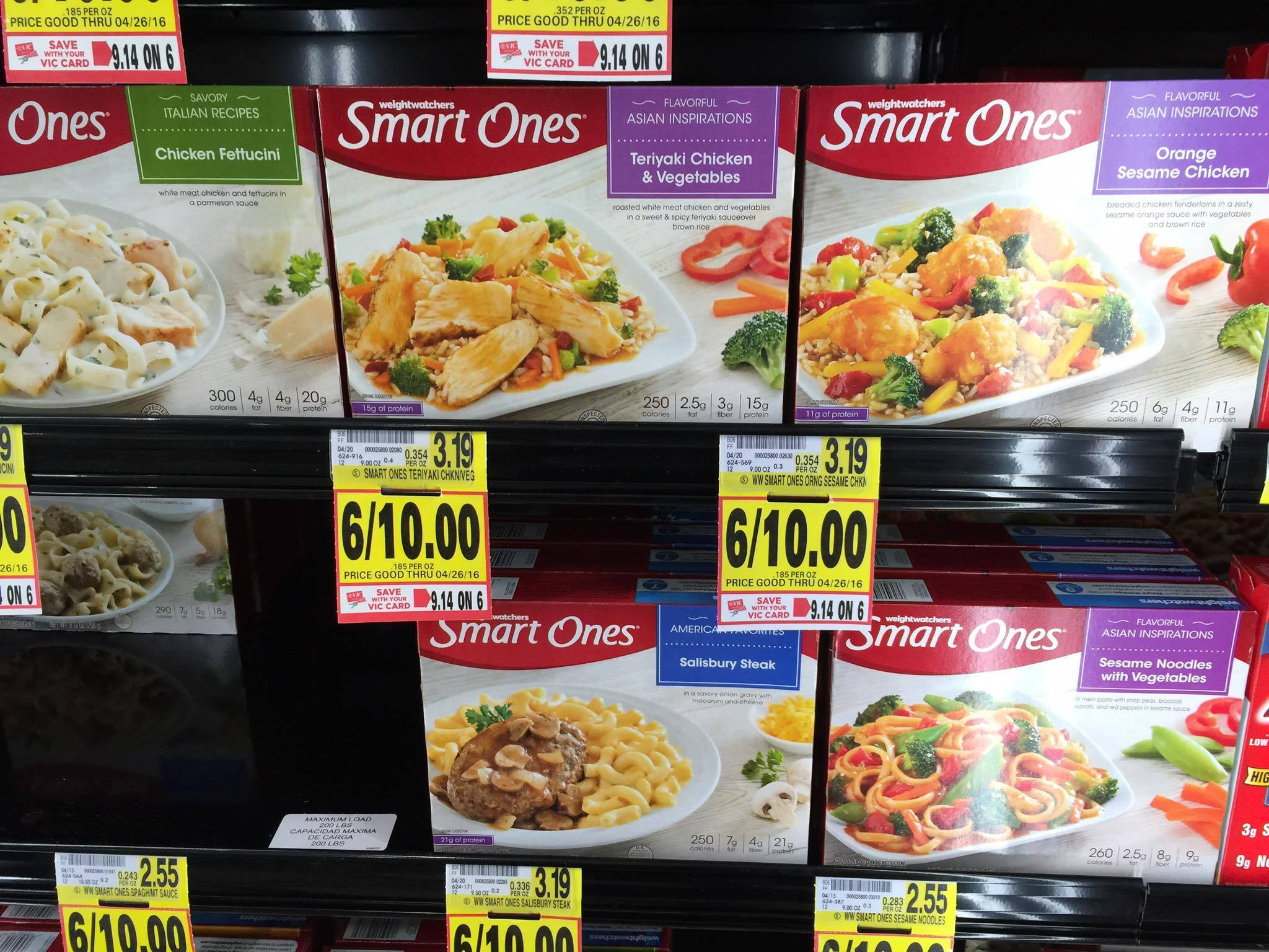 Through 3/30, Target has Weight Watchers Smart Ones meals on sale for as low as $ (depending on your local Target) AND when you buy 5, you'll get 1 FREE! Plus, check out the Smart Ones printable coupons available * $4/10 Weight Watchers Smart Ones Product * $3/10 Weight Watchers Smart Ones Product * $5/12 Weight Watchers Smart Ones Product.