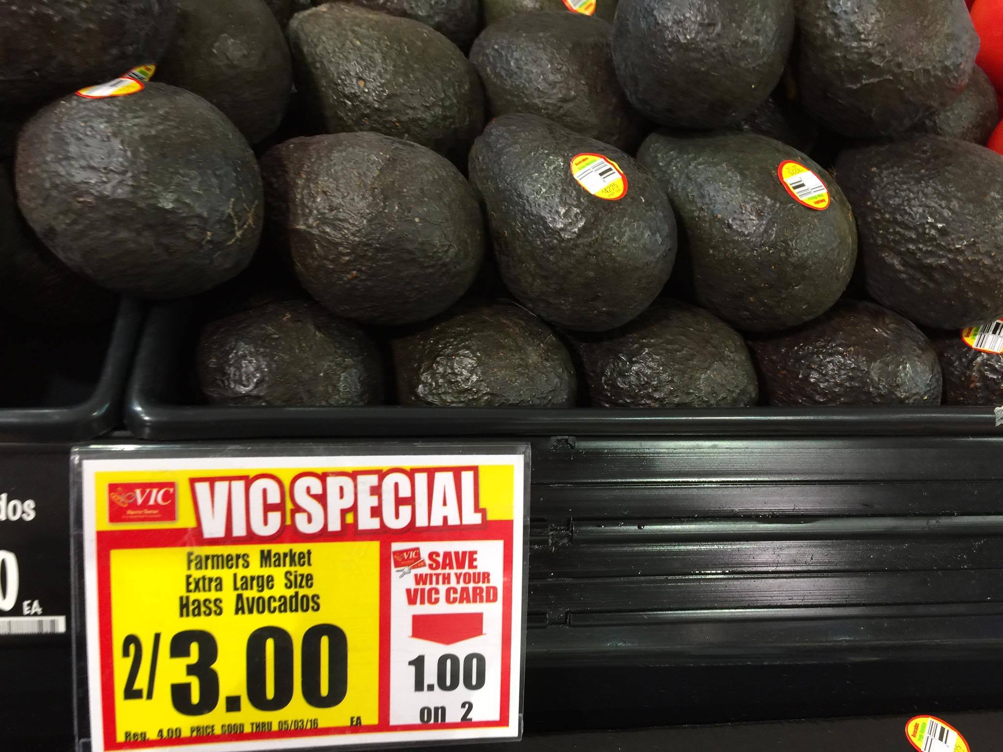 hass avocadoes