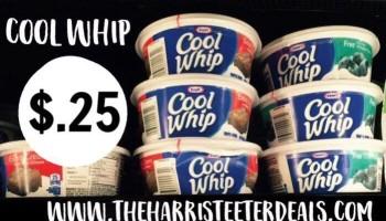 Cool Whip 25¢ at Harris Teeter {5/25-5/31}