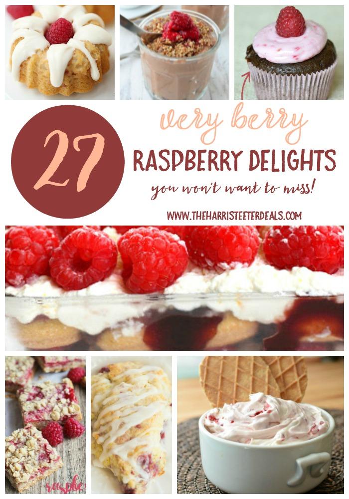 27 Very very Raspberry Delights - Blank