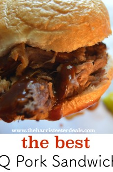 The Best BBQ Pork Sandwiches {Deals to Meals}