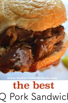 The Best BBQ Pork Sandwiches {Deals to Meals}