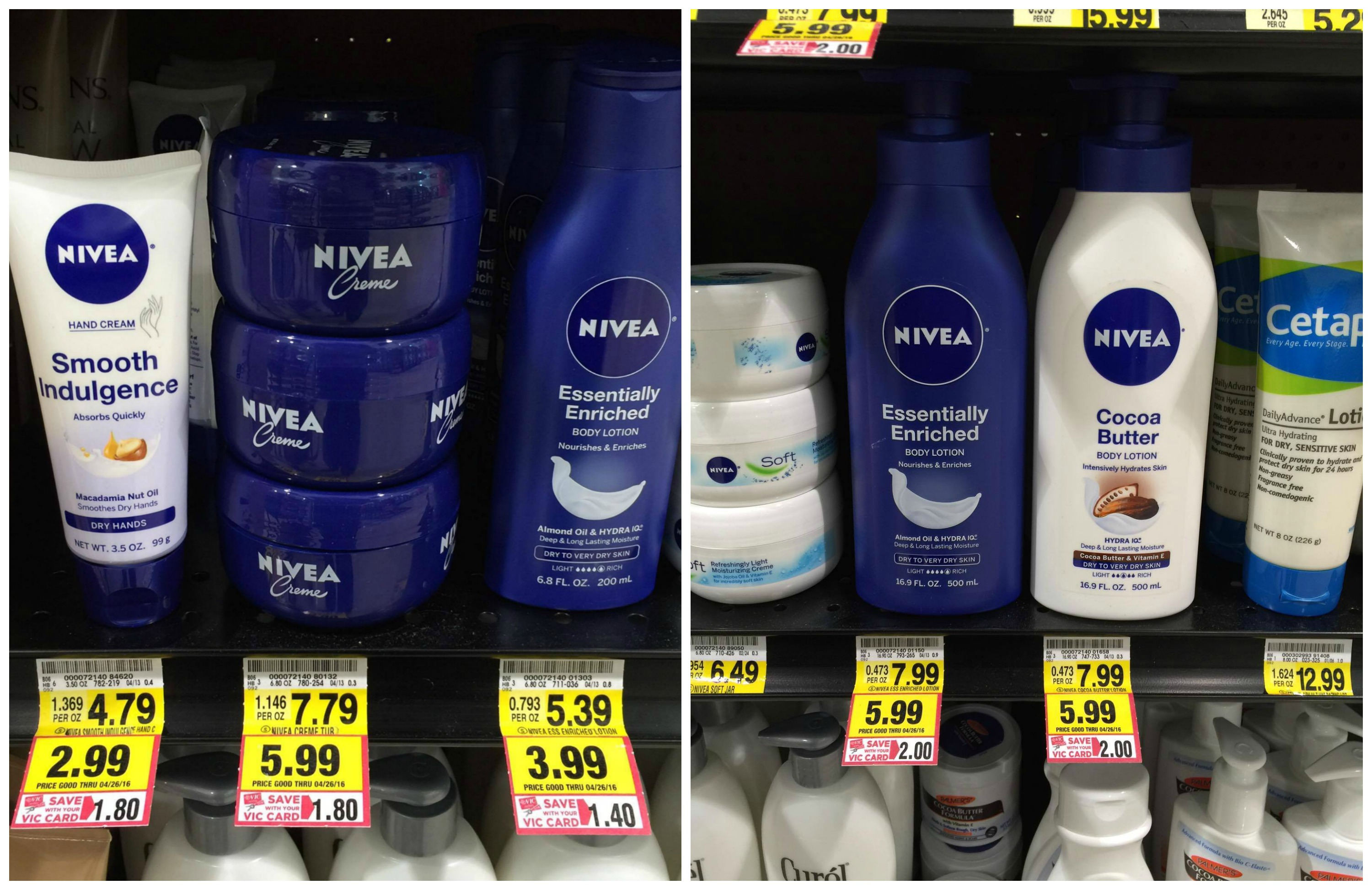 Nivea Lotion Deals {as low as 99¢ at Harris Teeter!} - The Harris Teeter Deals