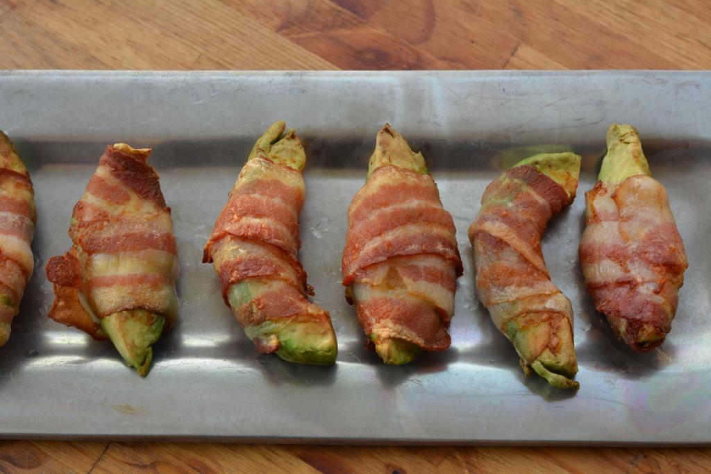 bacon wrapped avocado