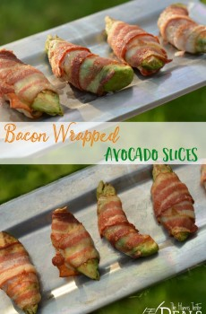 Bacon Wrapped Avocado Slices {Deals to Meals}