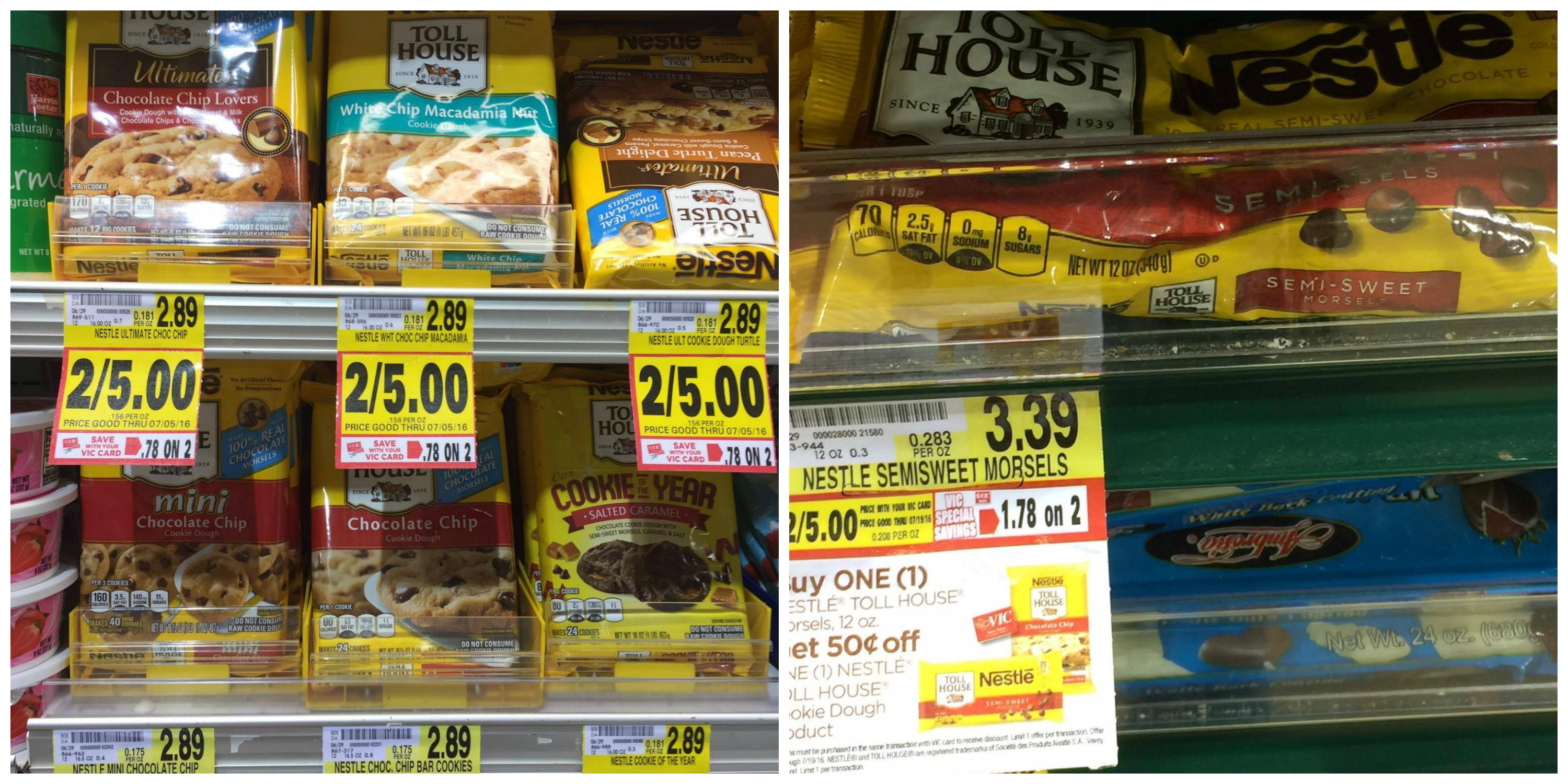 Nestle Toll House Cookie Dough Price