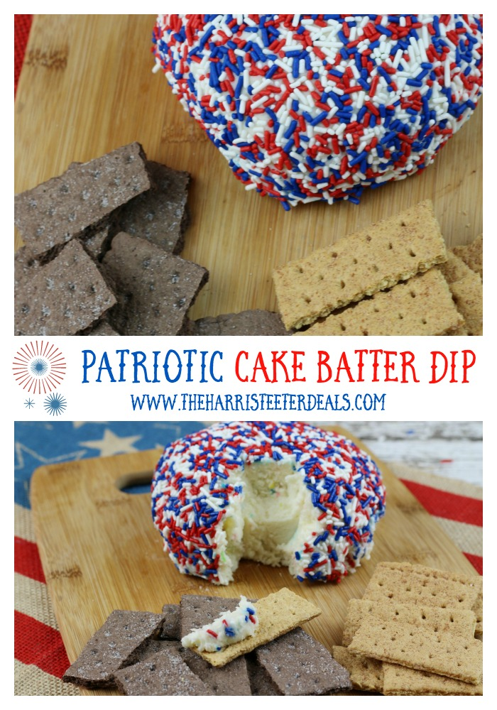Patriotic Cake Batter Dip Recipe The Harris Teeter Deals