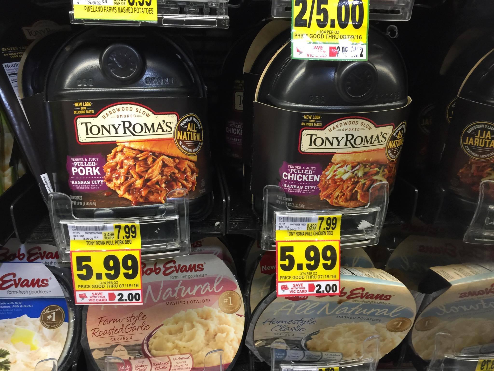 tony roma's harris teeter