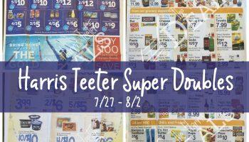 Harris Teeter Super Doubles Match-ups 7/27 – 8/2 {Master List}