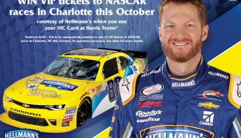 Harris Teeter's Ultimate NASCAR Experience Giveaway {Plus autographed gear giveaway!} #HarrisTeeterVIP