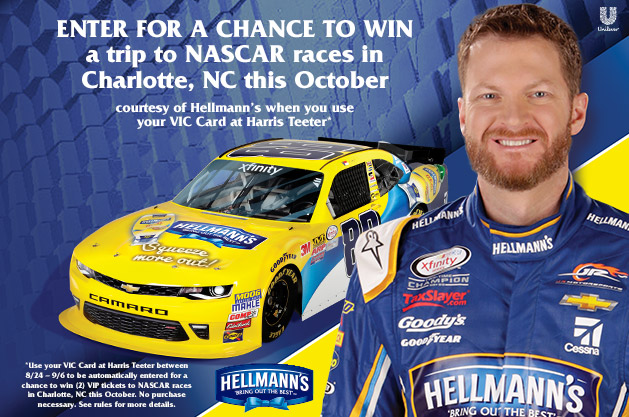 Nascar promotions and giveaways