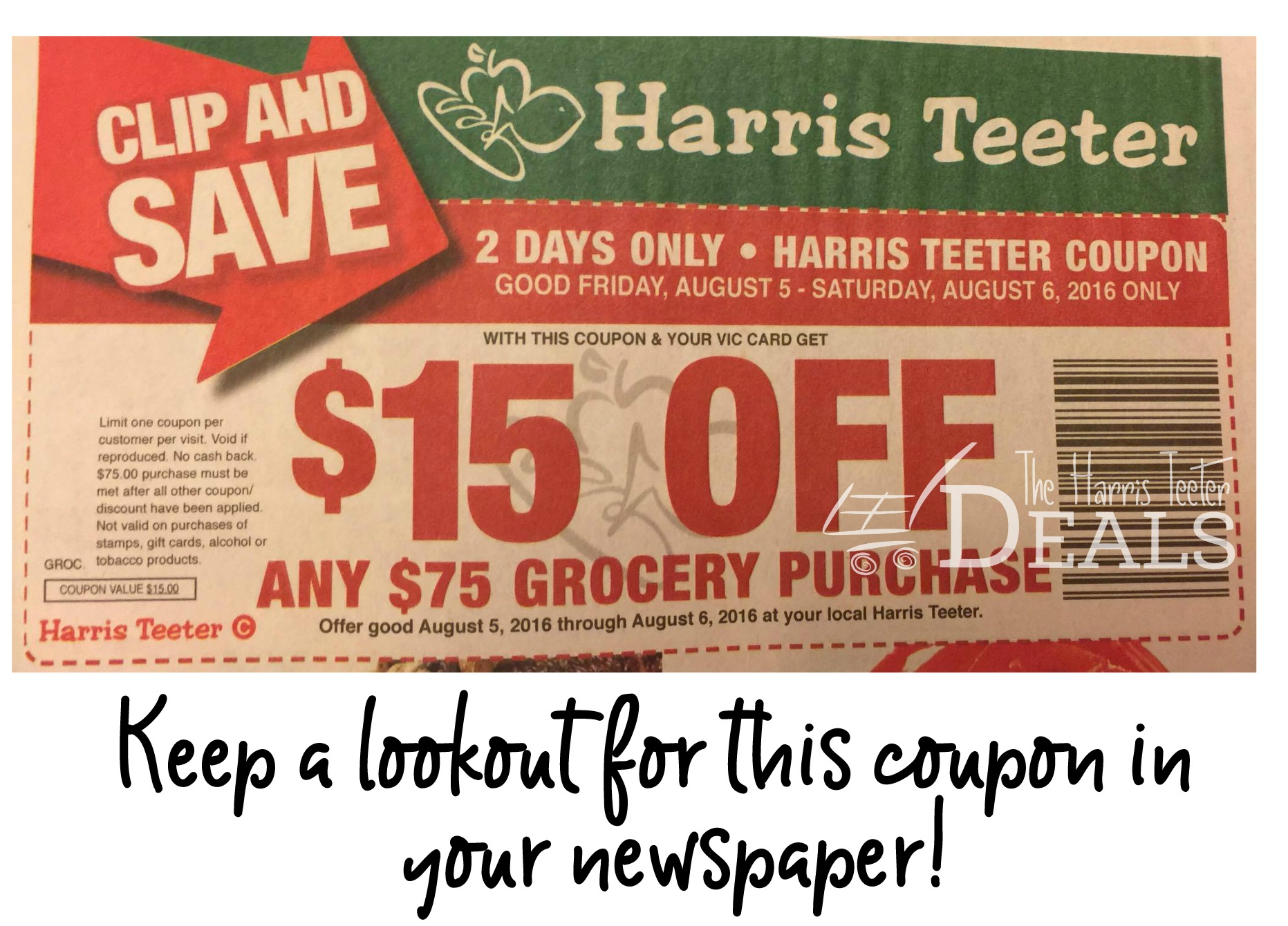 Harris teeter coupons