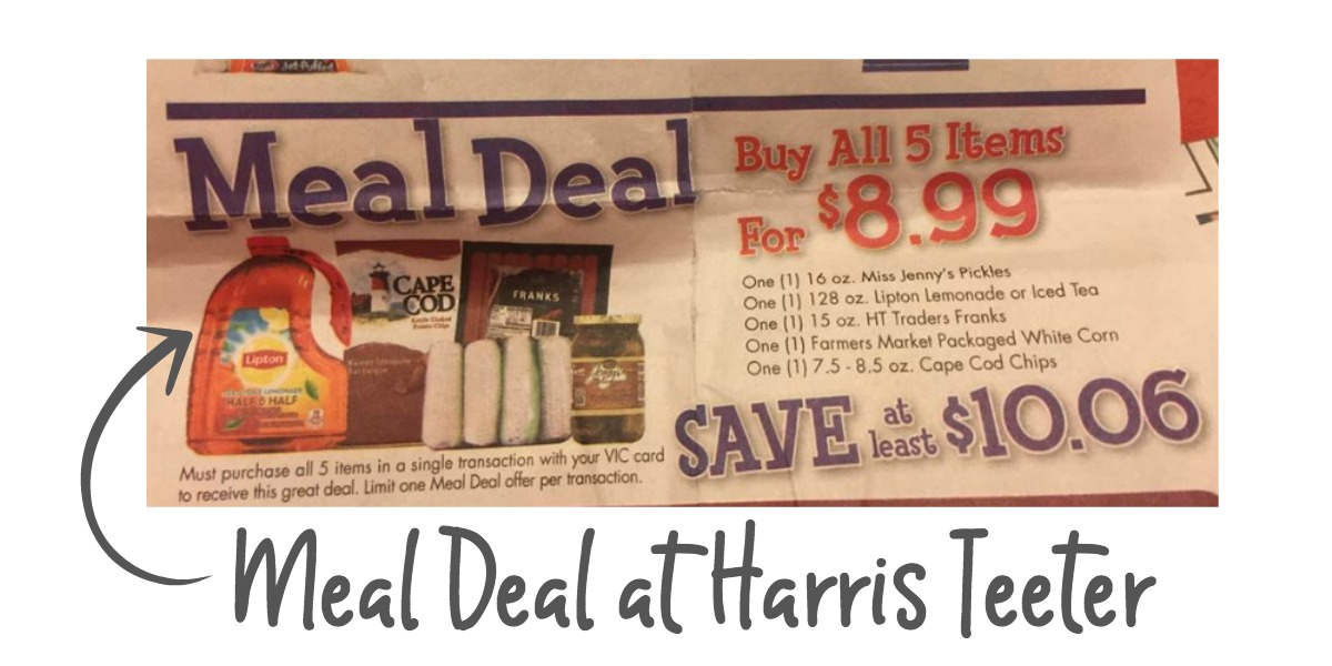 meal deal harris teeter