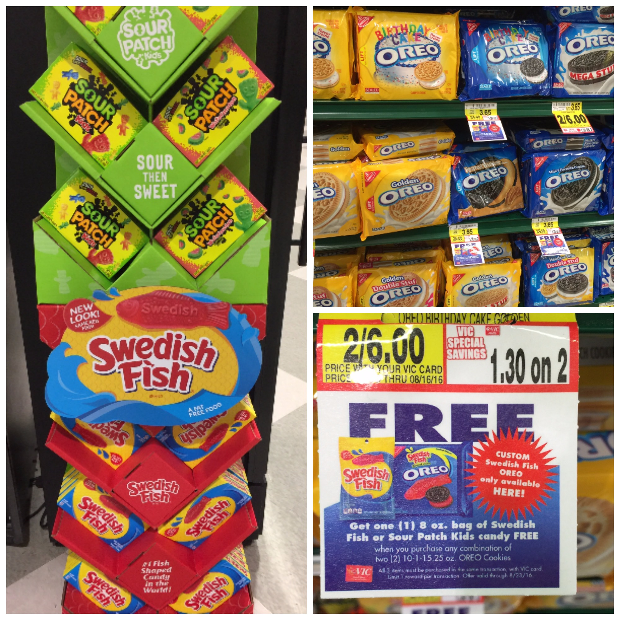 Oreo promo buy 2 get free candy the harris teeter deals for Swedish fish oreos where to buy