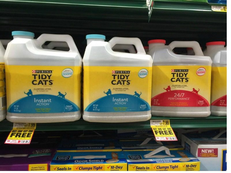 New Purina Tidy Cat Litter Coupons Buy One Get One Free