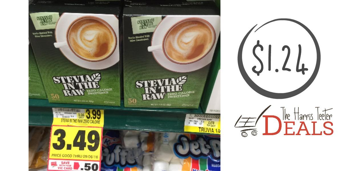 stevia in the raw harris teeter