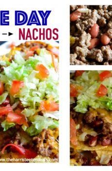 Game Day Nachos {Deals to Meals}
