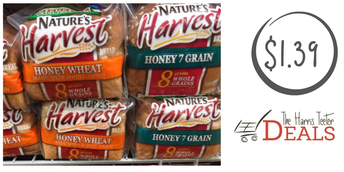 Nature S Harvest Bread Coupon