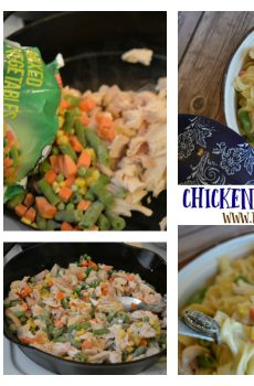 Chicken and Cream Noodles Recipe {Deals to Meals}