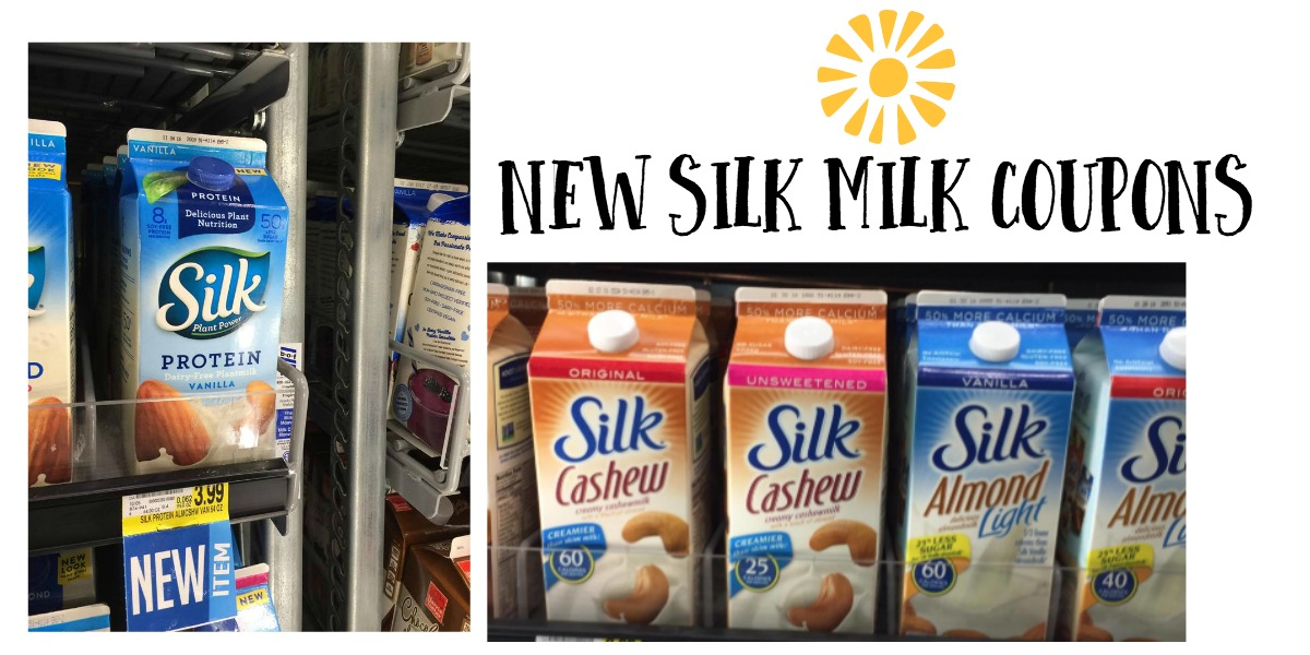 Silk milk coupons december 2018