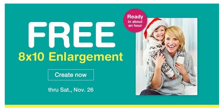 Walgreens photo coupon 8x10 code