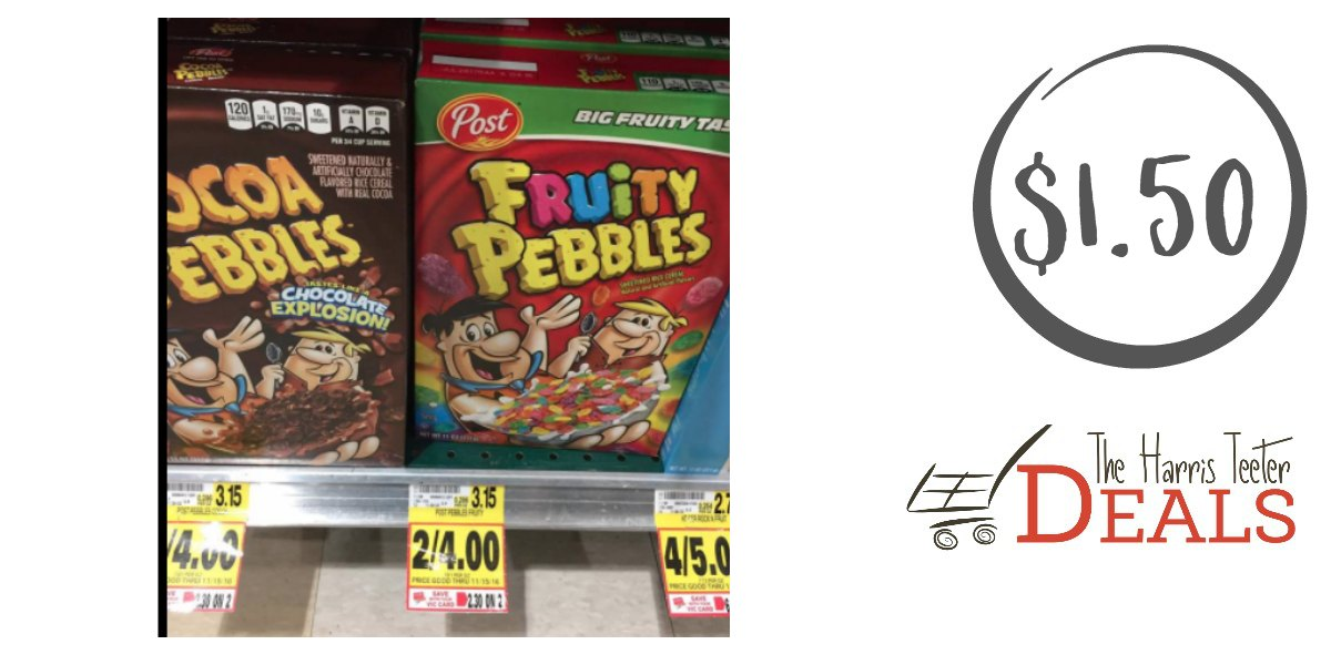 Coupon fruity pebbles