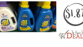 All Detergent just $1.82!! {Print your coupon!}