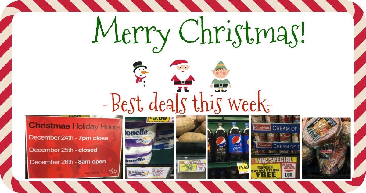 Merry Christmas! {Best Deals This Week at Harris Teeter} - The ...