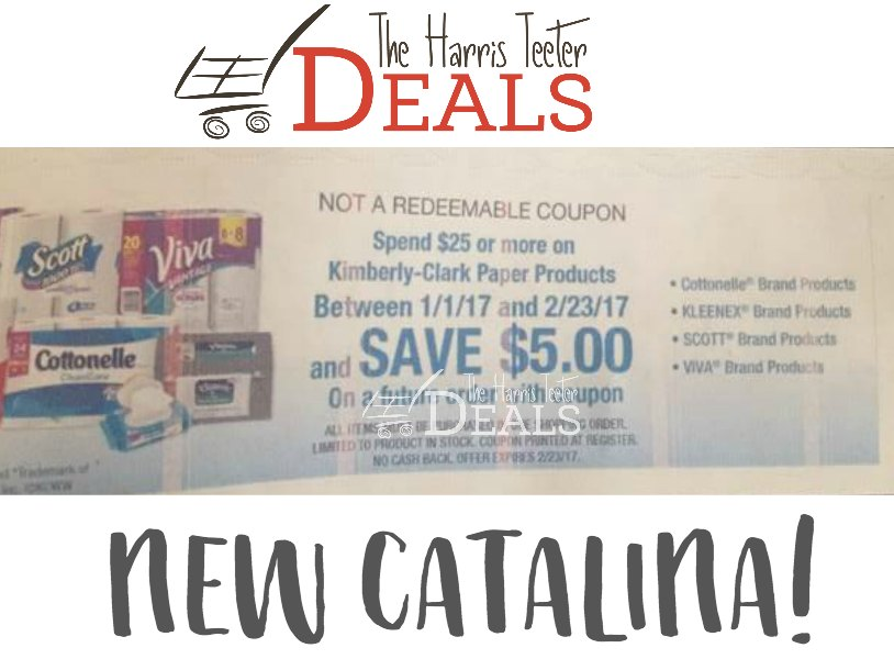 catalina coupon paper
