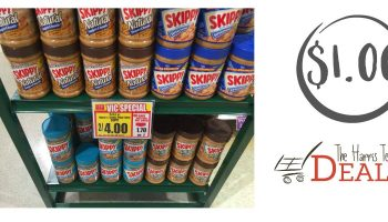 Skippy Peanut Butter just $1.00 at Harris Teeter 12/7 – 12/13
